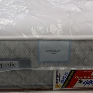 Sealy Posturepedic Langley Plush King